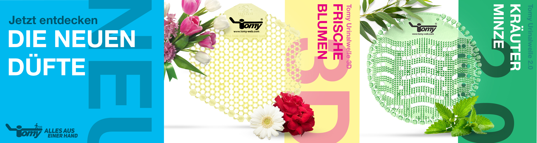 JETZT NEUE DUFTRICHTUNGEN! Kräuter Minze & Frische Blumen