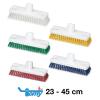 HACCP Schrubber-Wischer Kunststoff MS 0,5 hart X-Borste