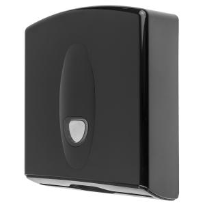 Handtuchspender midi Kunststoff schwarz (PQB20MidiH) (PlastiQline 2020)