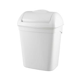 Hygiene-Abfallbehälter 8 Liter Kunststoff weiß (PQH8) (PlastiQline)
