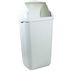 Hygiene-Abfallbehälter 23 Liter Kunststoff weiß (PQH23) (PlastiQline)