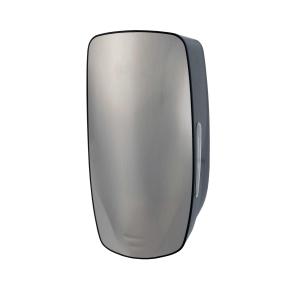 Seifenspender 800 ml POUCH Edelstahl/Kunststoff (PQXSoap9P) (PlastiQline Exclusive)