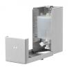 WC-Sitzreinigerspender 400 ml Edelstahl (QSDR04T SSL)...
