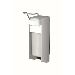 Desinfektion/Seifenspender KH 500 ml Aluminium (MQ05A) (MediQo-line)