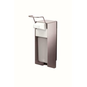 Desinfektion/Seifenspender KH 500 ml Edelstahl (MQ05E) (MediQo-line)
