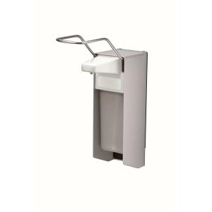 Desinfektion/Seifenspender LH 500 ml Aluminium (MQL05A) (MediQo-line)
