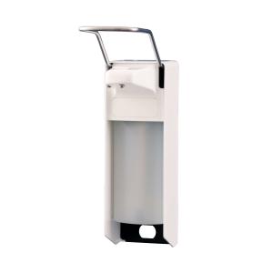 Desinfektion/Seifenspender LH 1000 ml Weiß (MQL10P) (MediQo-line)