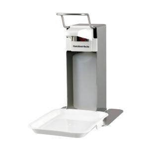 Desinfektion/Seifenpender LH 500 ml Edelstahl + Tropfschale (MQLTD05E) (MediQo-line)
