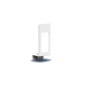 Verschlußplatte Weiß 500 ml mit Sichtfenster (MQLP05P) (MediQo-line)