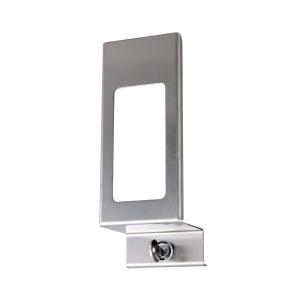 Verschlußplatte Edelstahl 500 ml mit Sichtfenster (MQLP05E) (MediQo-line)