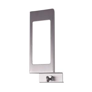 Verschlußplatte Edelstahl 1000 ml mit Sichtfenster (MQLP10E) (MediQo-line)