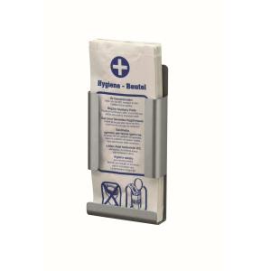 Hygienebeutelhalter Aluminium geeignet für Papierbeutel (MQHBPA A) (MediQo-line)
