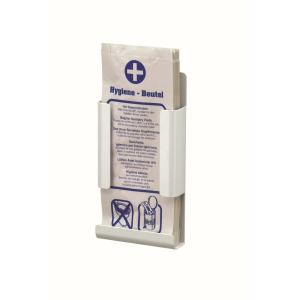 Hygienebeutelhalter Weiß geeignet für Papierbeutel (MQHBPA P) (MediQo-line)