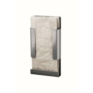 Hygienebeutelhalter Edelstahl geeignet für Papierbeutel (MQHBPA E) (MediQo-line)