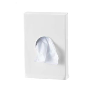 Hygienebeutelhalter Weiß geeignet für Polybeutel (MQHBPL P) (MediQo-line)