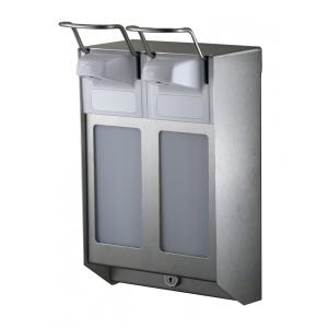 Desinfektion/Seifenspender DUO KH 1000 ml Edelstahl (MQDV10E) (MediQo-line)