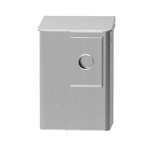 Hygiene-Abfallbehälter 6 Liter + Hygienebeutelhalter Edelstahl (MQWB6HBKE) (MediQo-line)