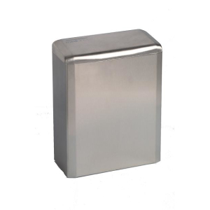 (Hygiene) Abfallbehälter geschlossen Edelstahl 6 Liter (PP0006CS) (Mediclinics)