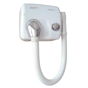 Haartrockner weiß mit Schlauch (SC0088HT) (Mediclinics)