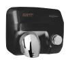 Händetrockner mit Drucktaste schwarz (E05B)...