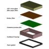 HEPA Filter zugunsten von Twinflow Hands-In Händetrockner (PQHEPA) (PlastiQline)
