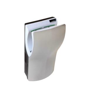 Händetrockner automatisch Hands-in Kunststoff Edelstahl-Look (PQ14ACS) (PlastiQline)