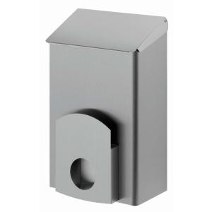 Hygienebehälter + Hygienebeutelhalter 7 Liter Edelstahl (AC LBS 7 E) (Dutch Bins)