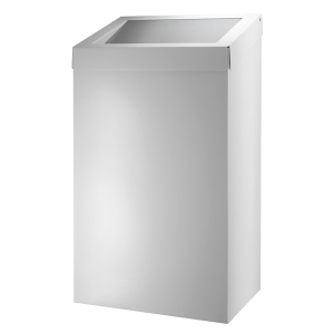 Abfallbehälter 50 Liter geschlossen Weiß (AC BB 50 EP) (Dutch Bins)