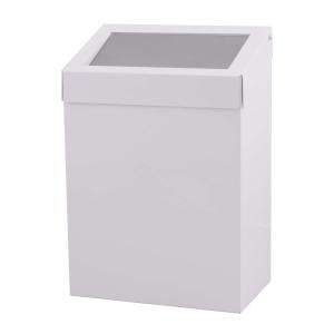 Abfallbehälter 20 Liter geschlossen Weiß (AC BB 20 EP) (Dutch Bins)