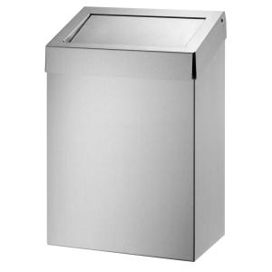 Abfallbehälter 20 Liter geschlossen Edelstahl (AC BB 20 E) (Dutch Bins)