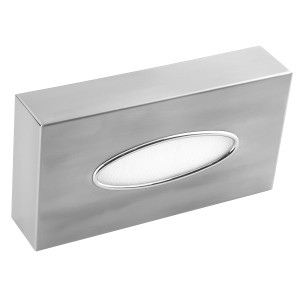Kosmetiktücher-Box/ Taschentuch/ Tissue Spender Edelstahl (AI0985CS) (Mediclinics)