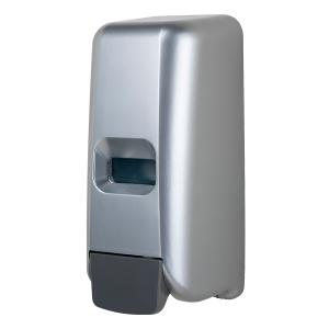 Schaumseifenspender 1000 ml Kunststoff Edelstahl Optik (PQHandFM) (MediQo-line)