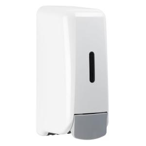 Schaumseifenspender 1000 ml Kunststoff Weiß (PQHandFW) (MediQo-line)