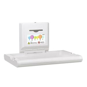 Baby Wickeltisch horizontal weiß (CP0016H) (Mediclinics)