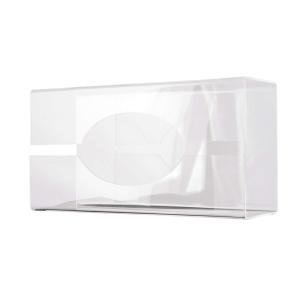 Handschuhspender transparent groß Tischmodell (MQGLV) (MediQo-line)