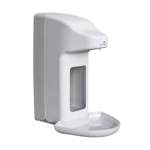 Desinfektion/Seifenspender automatisch 1000 ml Kunststoff + Tropfschale (MQA10K) (MediQo-line)