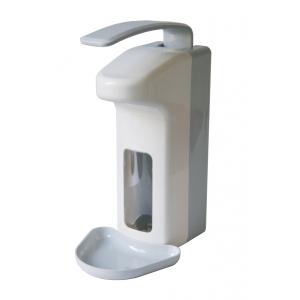 Desinfektion/Seifenspender LH 500 ml Kunststoff + Tropfschale (MQL05K) (MediQo-line)