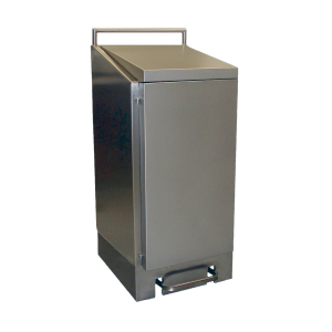 Abfallsackhalter 120 Liter Edelstahl (AVZH 120 E) (Dutch Bins)