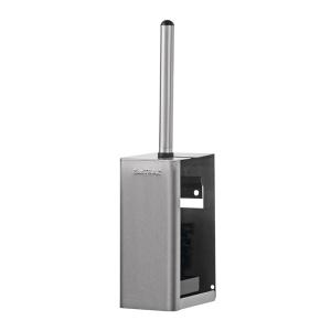 Toilettenbürstenhalter geschlossen Edelstahl AFP-C (WBU 3 E) (SanTRAL)