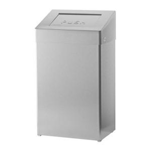 Abfallbehälter 50 Liter geschlossen Edelstahl AFP-C (ABU 50 E) (SanTRAL)