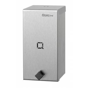 Seifenspender 900 ml hochqualitativ Edelstahl (QSDR08HQ SSL) (Qbic-line)