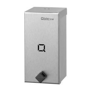 Seifenspender 400 ml hochqualitativ Edelstahl (QSDR04HQ SSL) (Qbic-line)