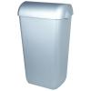 Abfallbehälter 43 Liter Kunststoff Edelstahl Optik...