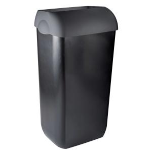 Abfallbehälter 23 Liter halb offen Kunststoff (PQXA23) (PlastiQline Exclusive, Dutch Bins)