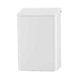 Abfallbehälter 6 Liter weiß geschlossen (MQWB6P) (MediQo-line, Dutch Bins)