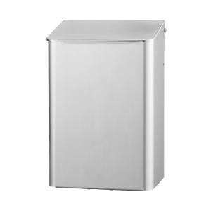 Abfallbehälter 6 Liter Edelstahl geschlossen (MQWB6E) (MediQo-line, Dutch Bins)