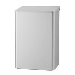 Abfallbehälter 15 Liter Aluminium geschlossen (MQWB15A) (MediQo-line, Dutch Bins)