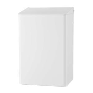 Abfallbehälter 15 Liter Weiß geschlossen (MQWB15P) (MediQo-line, Dutch Bins)