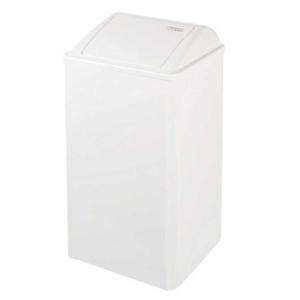 Abfallbehälter geschlossen weiß 65 Liter (PP0065) (Mediclinics, Dutch Bins)