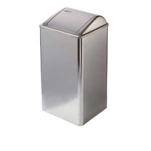 Abfallbehälter geschlossen Hochglanz 65 Liter (PP0065C) (Mediclinics, Dutch Bins)